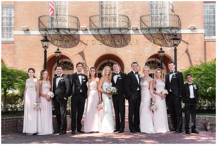 Tidewater Wedding, bridal party, bridesmaid dresses, groomsmen