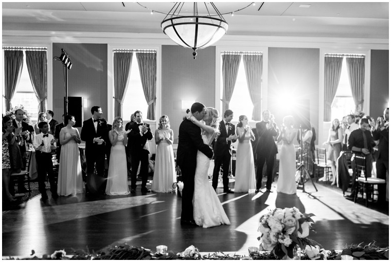 first dance photography, black and white wedding photography, Tidewater Wedding Reception