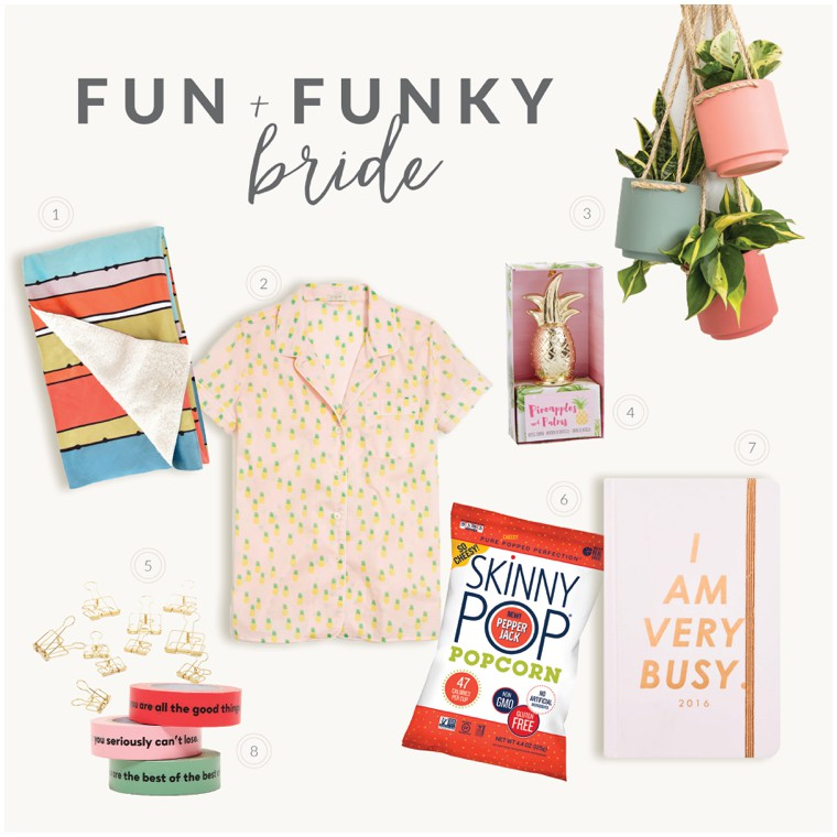 Fun & Funky Bride Wedding Planning Must-Have List
