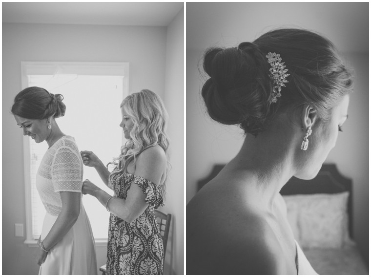 Getting Ready Session with Bridesmaids