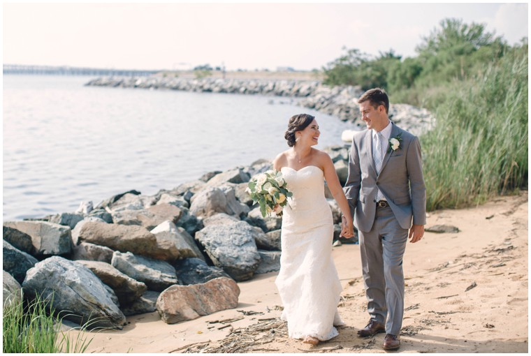chesapeake bay beach wedding