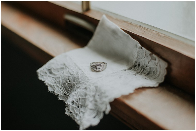 lace wedding handkerchief