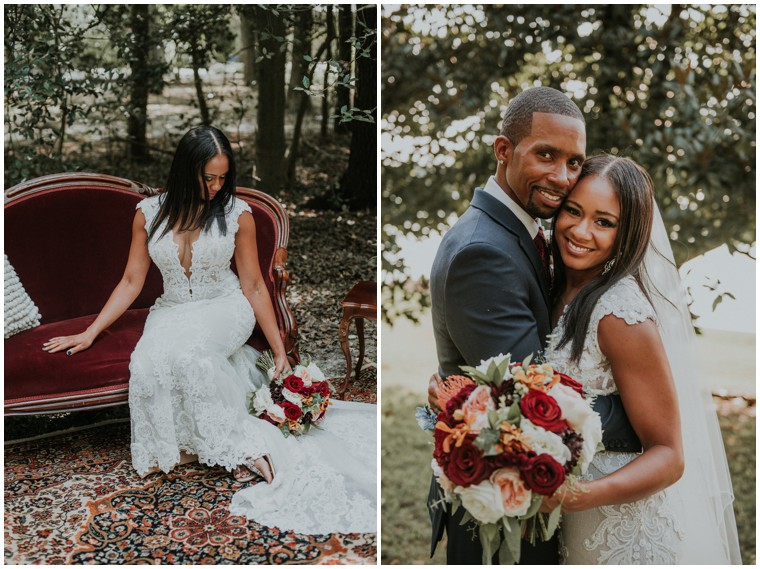a little rusty shop rentals just married bride and groom portraits