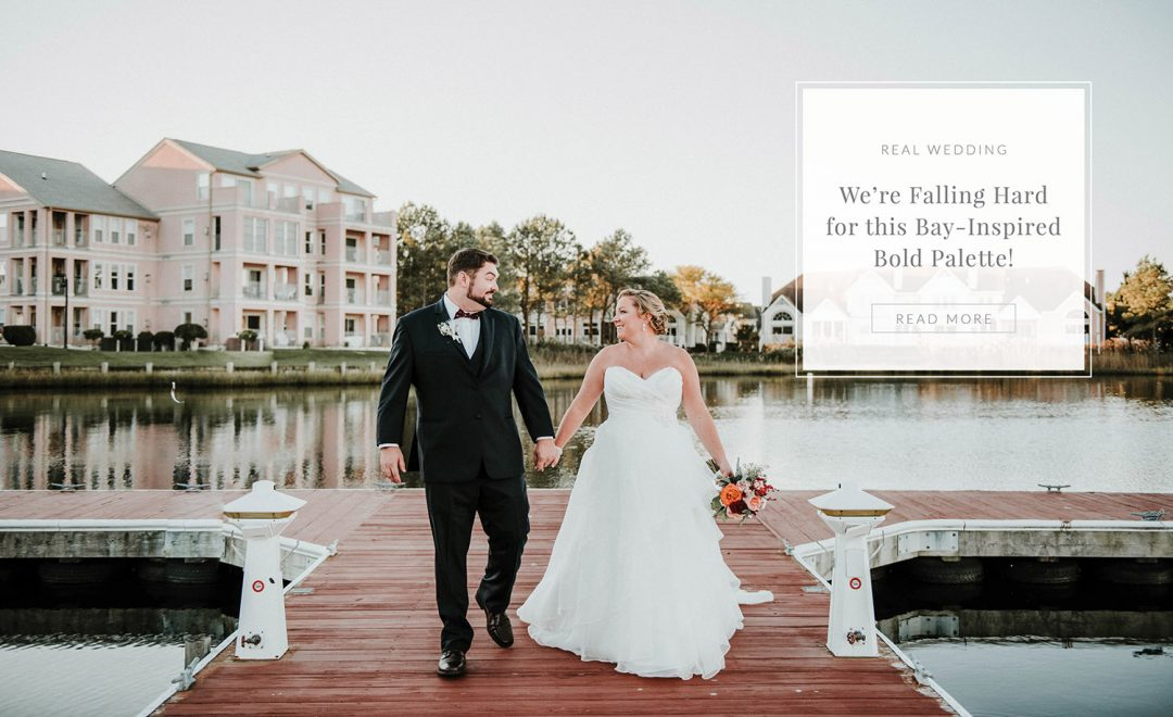 Chesapeake Bay-inspired Ocean City wedding