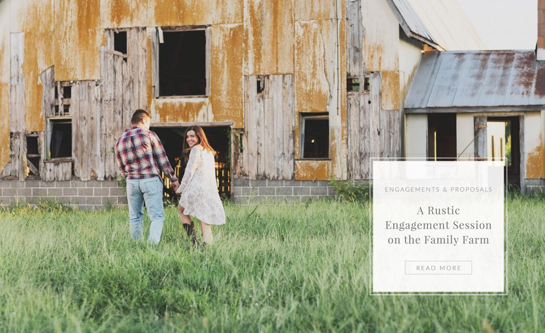 Farm Engagement Session on the Eastern Shore