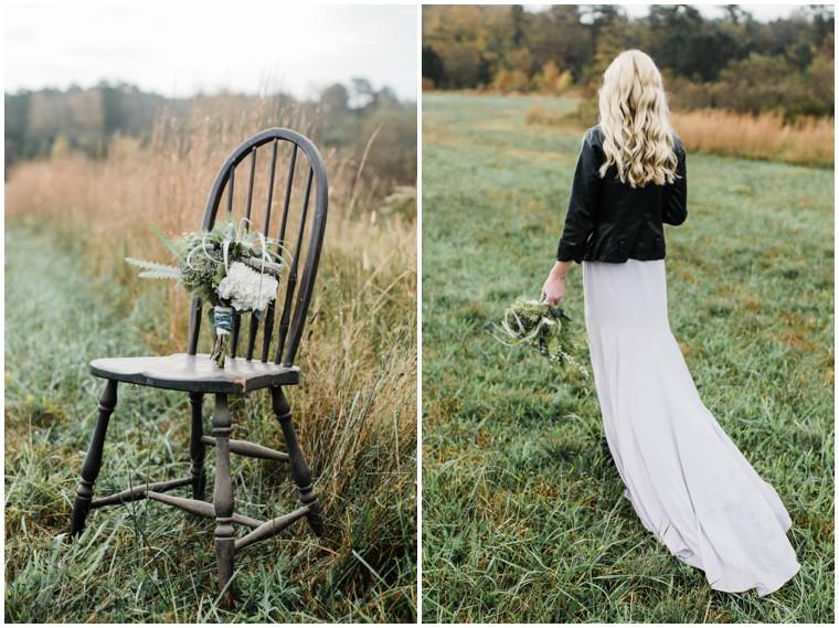 modern boho bridal inspo