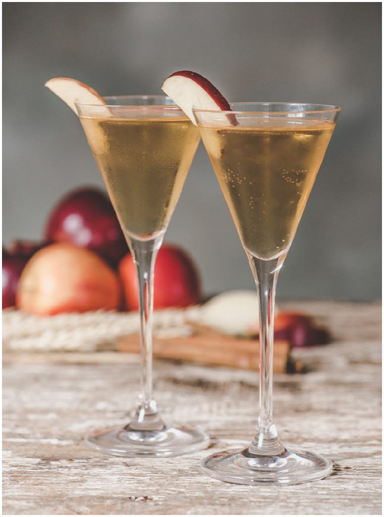 apple cinnamon and cider cocktail recipe