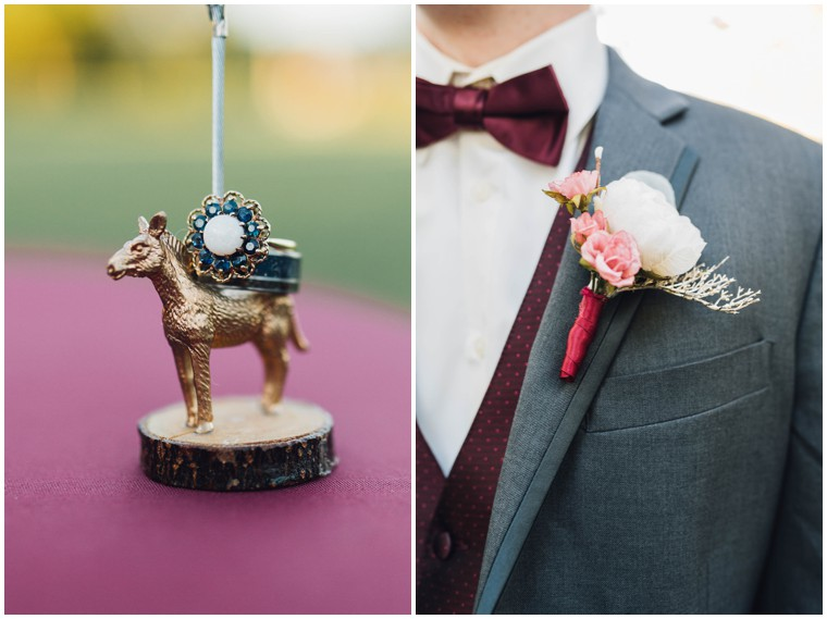 quirky bridal details