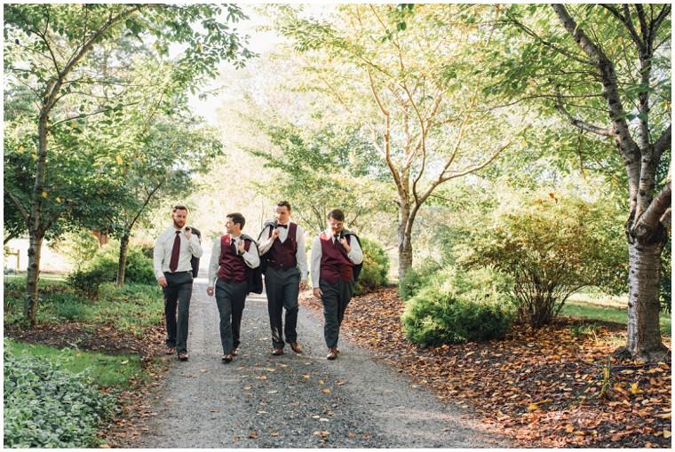 maroon groomsmen vest