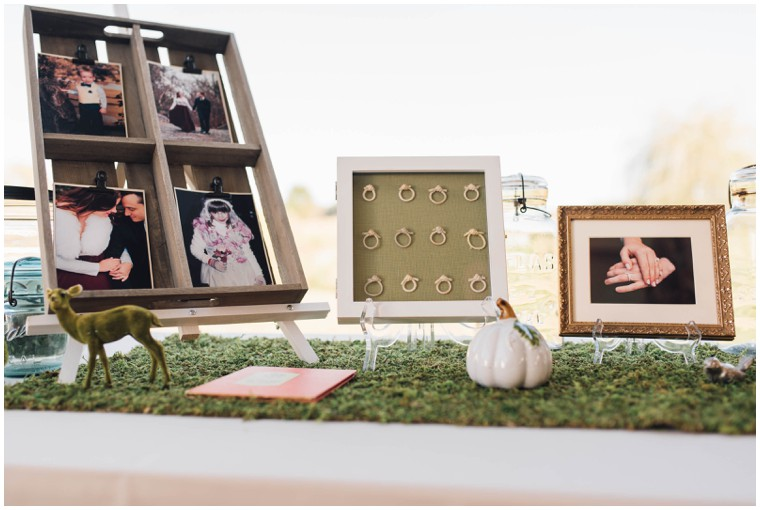 rustic and unique wedding decor
