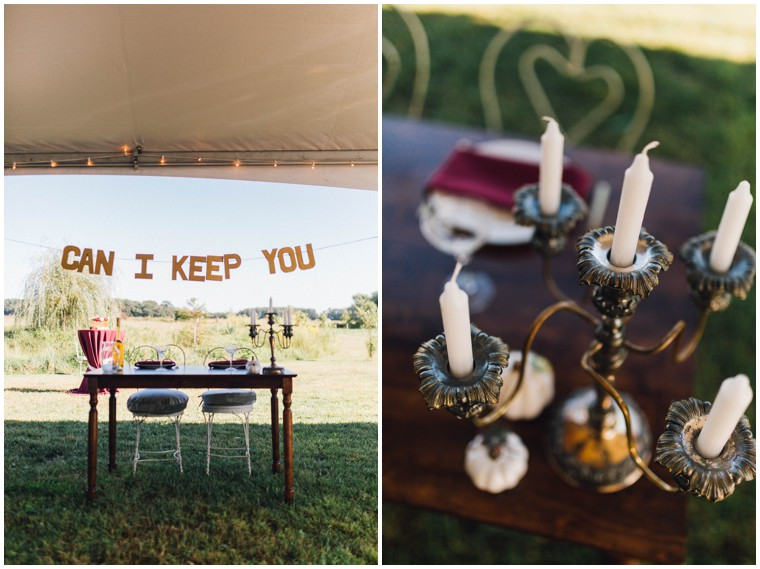 unique vintage wedding decor