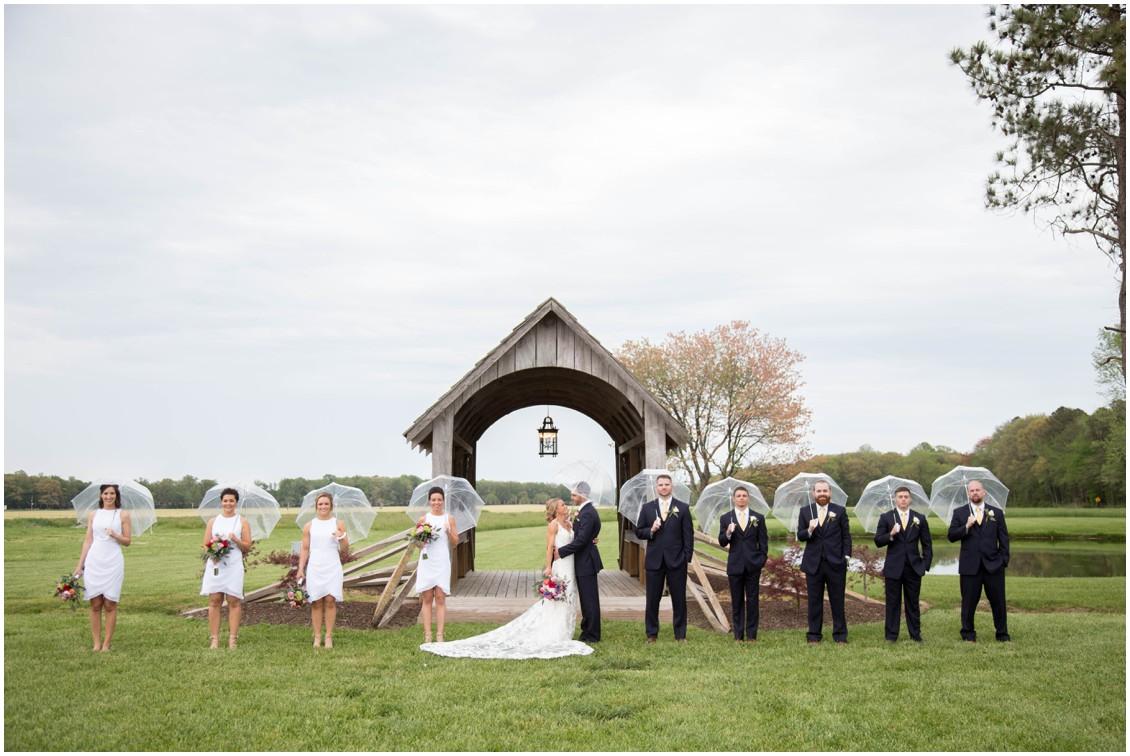 A Rainy Romantic Farm Wedding In Lewes Delaware My Eastern Shore Wedding