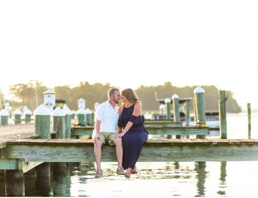 nautical marina engagement session