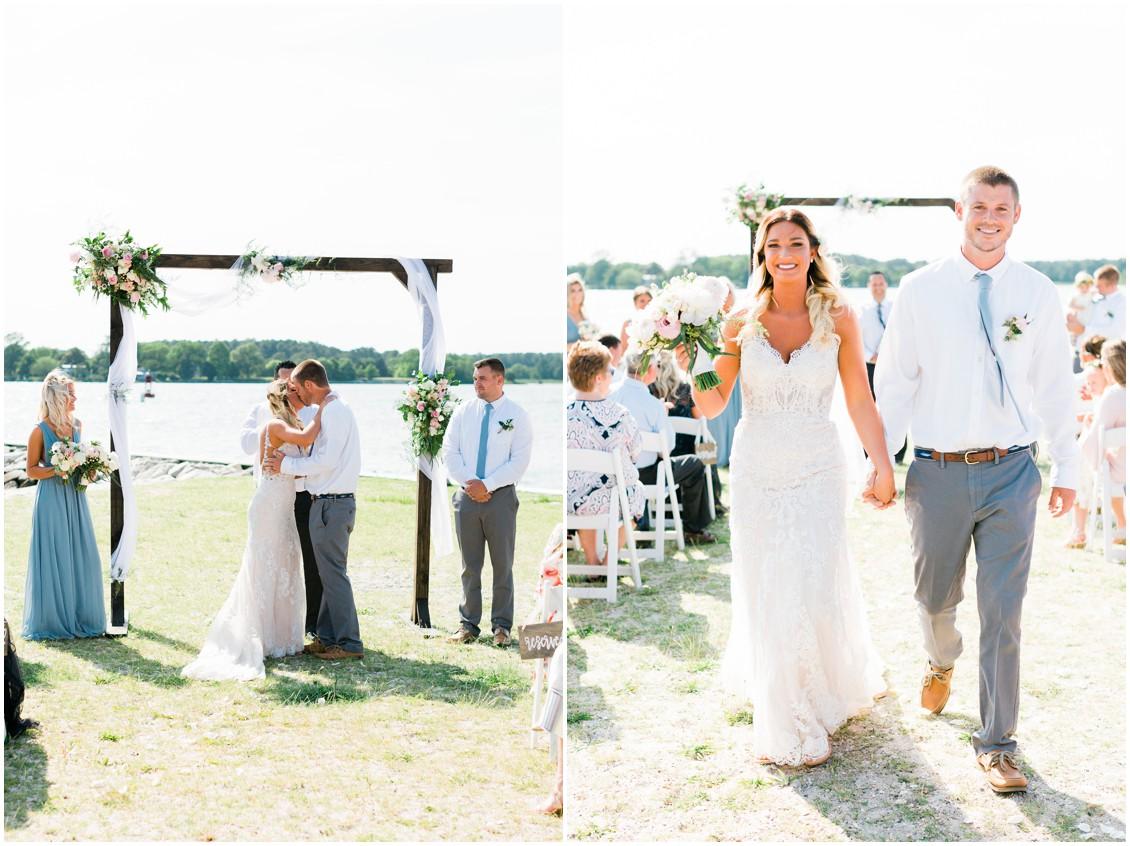 Tred Avon Yacht Club | Wedding ceremony | My Eastern Shore Wedding |