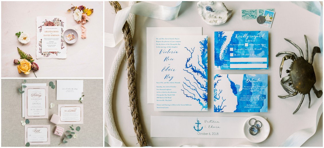 Wedding stationery trends | Celebrity wedding experts | My Eastern Shore Wedding |