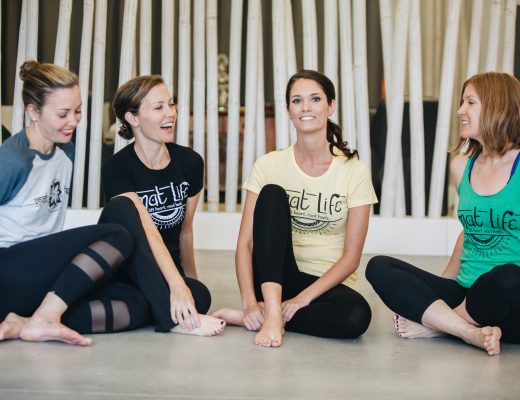 advice for how to relax before the wedding day from local eastern shore wellness guru mat life yoga