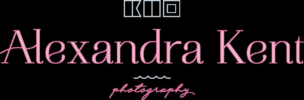 Alexandra Kent photography   Eastern Shore Wedding photographer   Logo