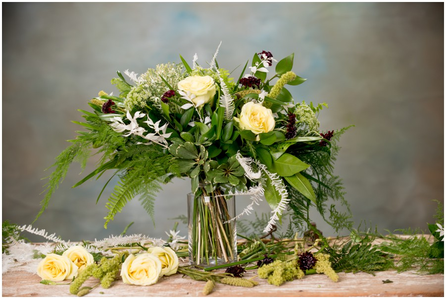Fantastic Fall Floral Bridal Bouquet for an Eastern Shore wedidng
