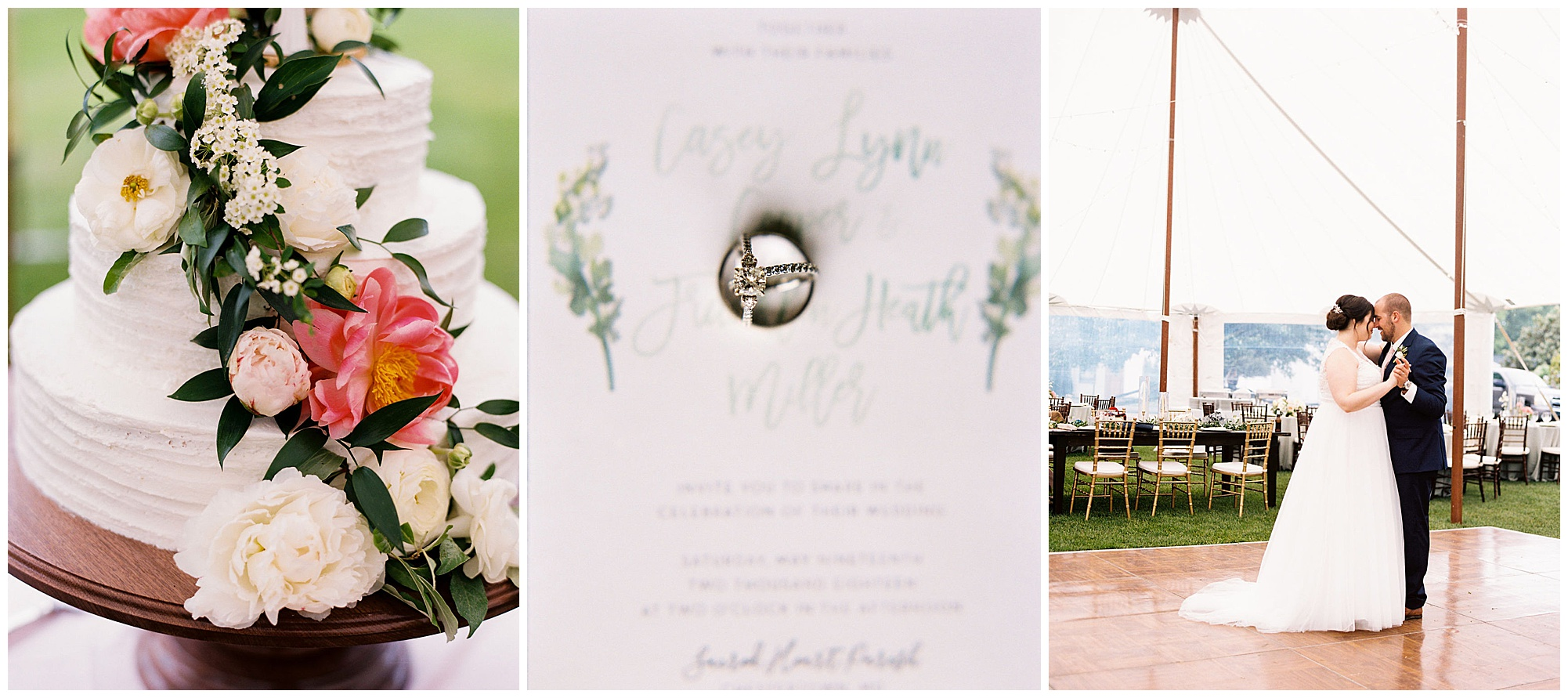 timeless wedding inspiration full of romance, boho, and water views at the inn at huntingfield in rock hall maryland now on wedding blog my eastern shore wedding
