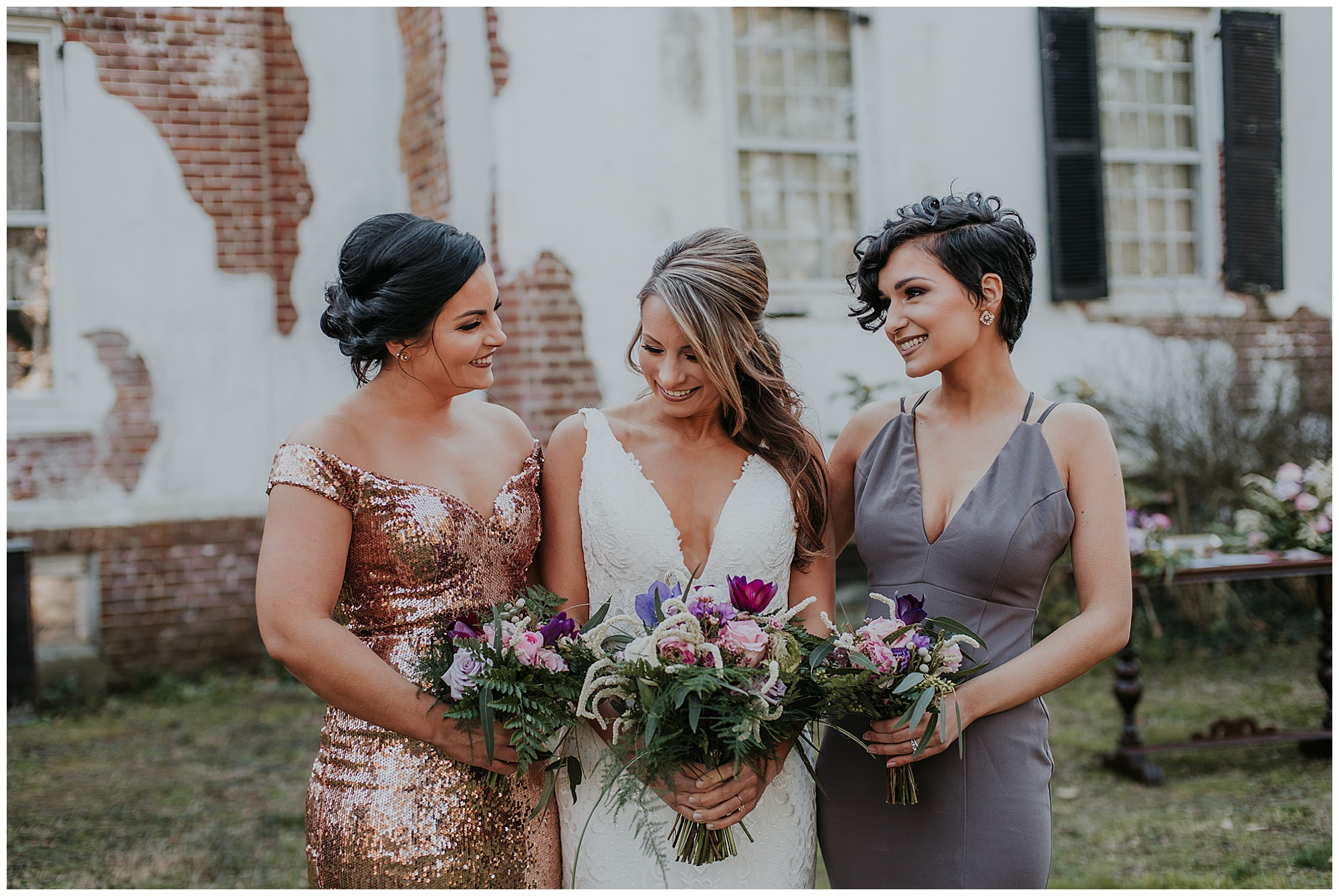 glamorous and boho style wedding theme at chanceford hall bed and breakfast. maryland wedding now featured on my eastern shore wedding.