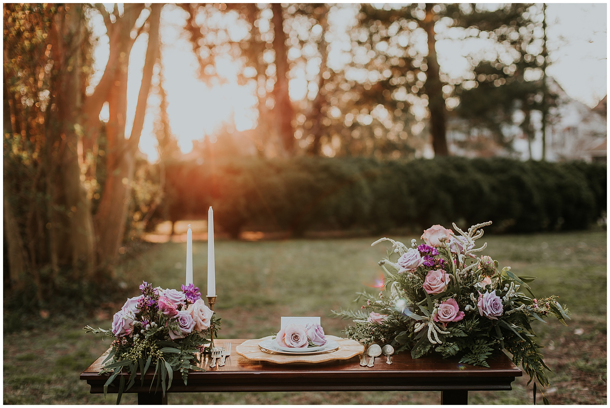 boho vintage style glam wedding inspiration and ideas outdoors on maryland eastern shore at chanceford hall b&b