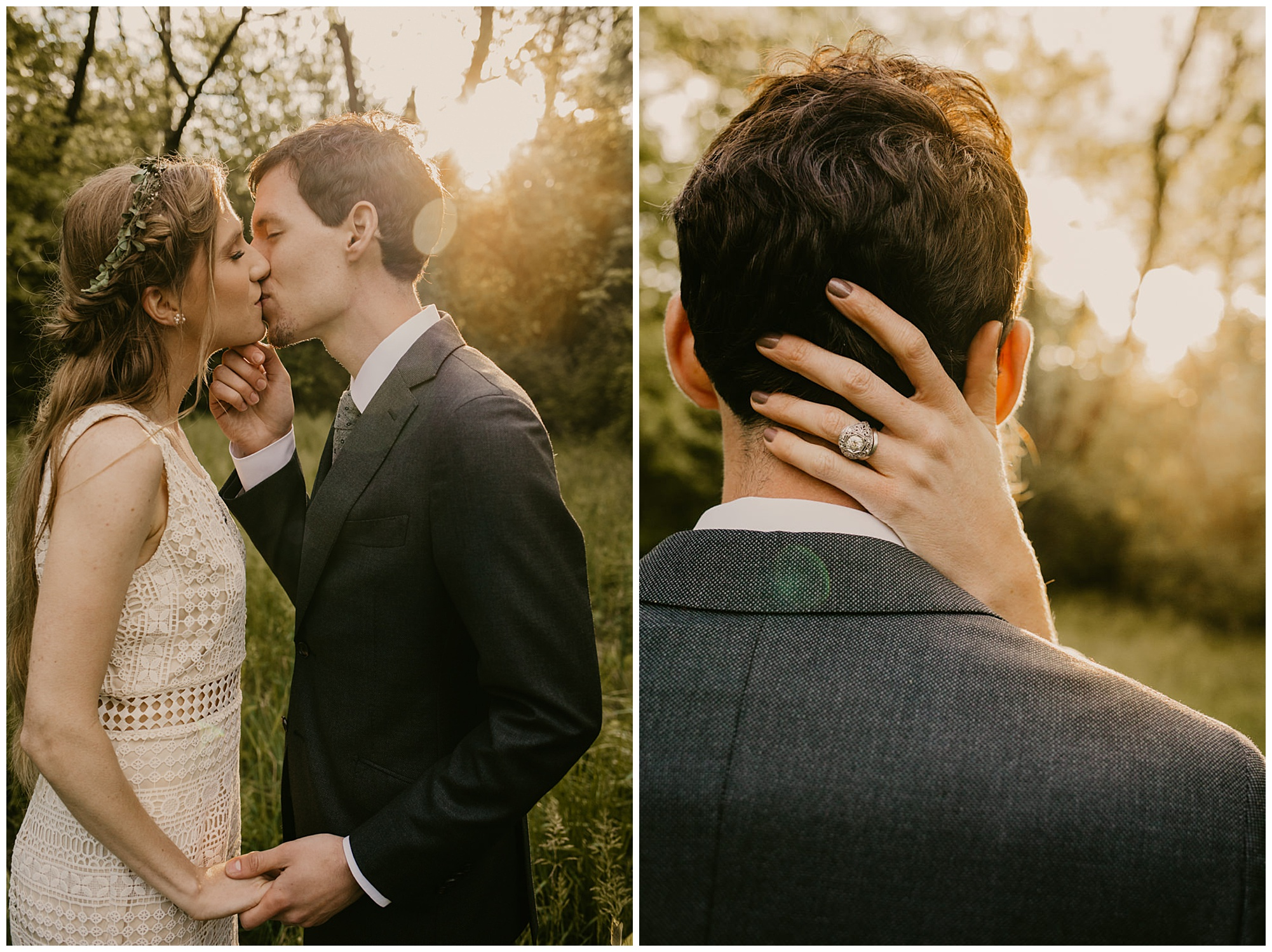 chic boho style wedding and carefree elopement inspo at prancing deer farm in warwick maryland now featured on my eastern shore wedding blog