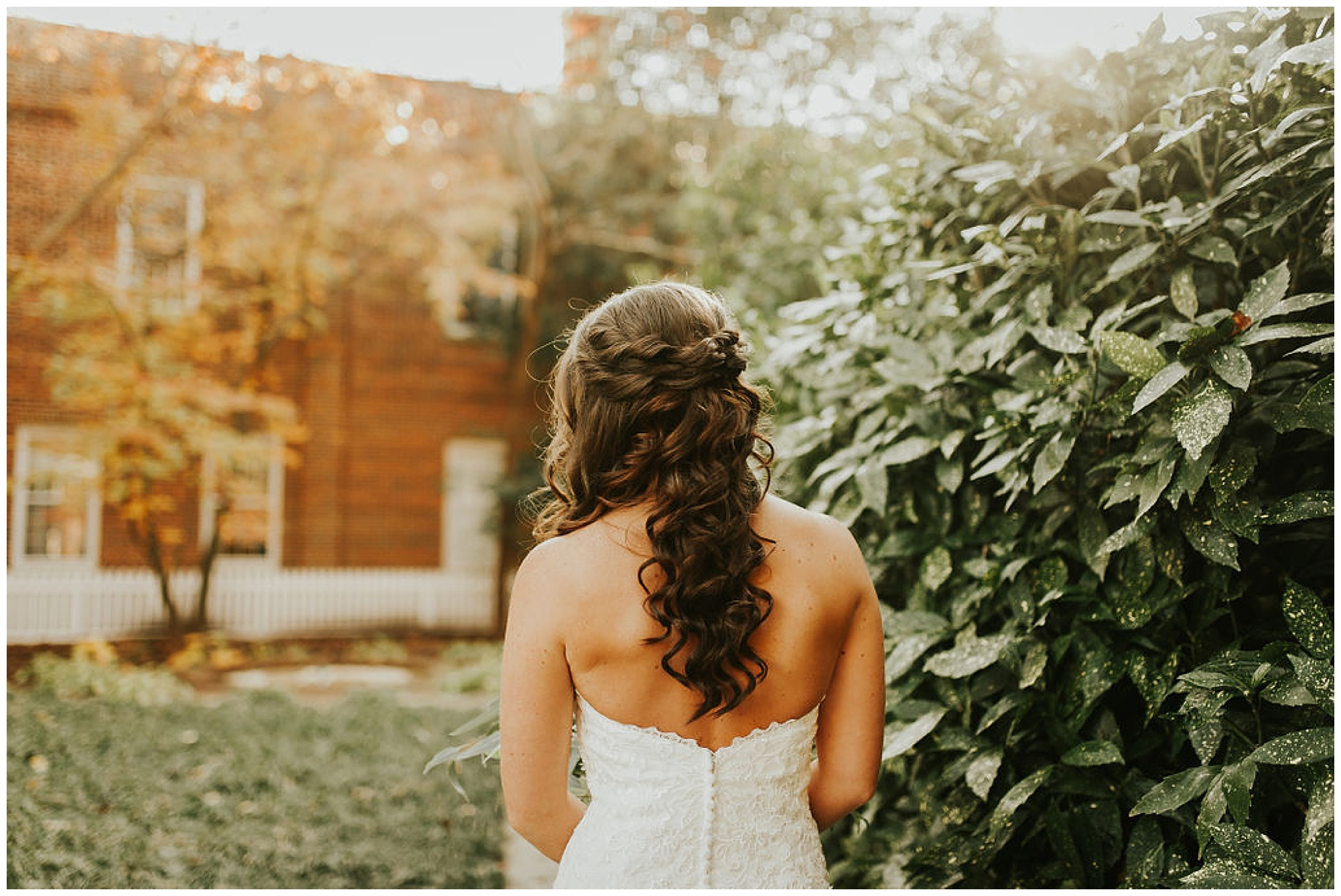 bridal hairstyle ideas and inspiration from fall tidewater inn wedding venue in easton maryland. now on my eastern shore wedding blog.