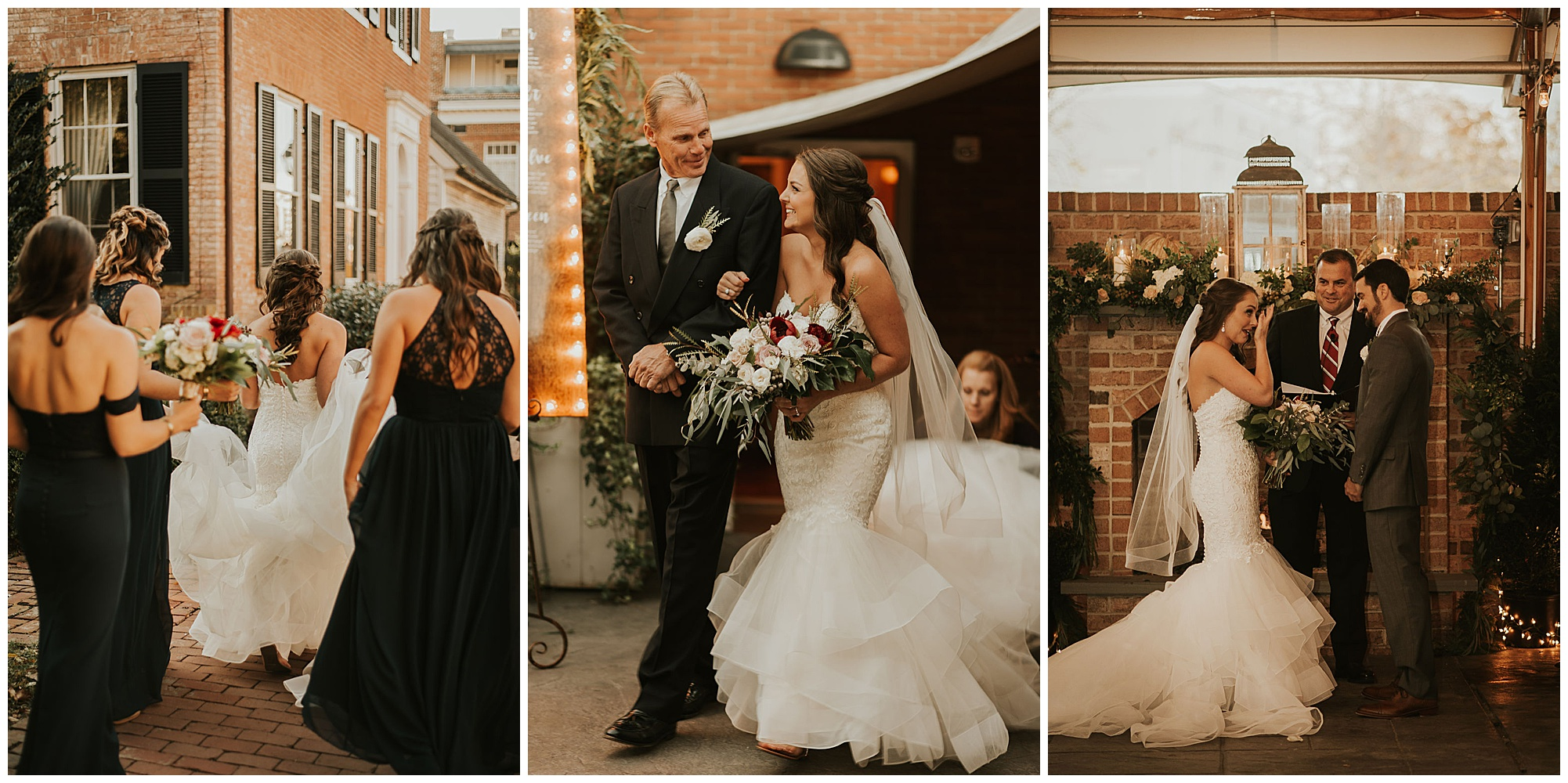 elegant glamorous fun chic romantic coastal wedding inspo at the tidewater inn wedding in the fall autumn now featured on my eastern shore wedding.