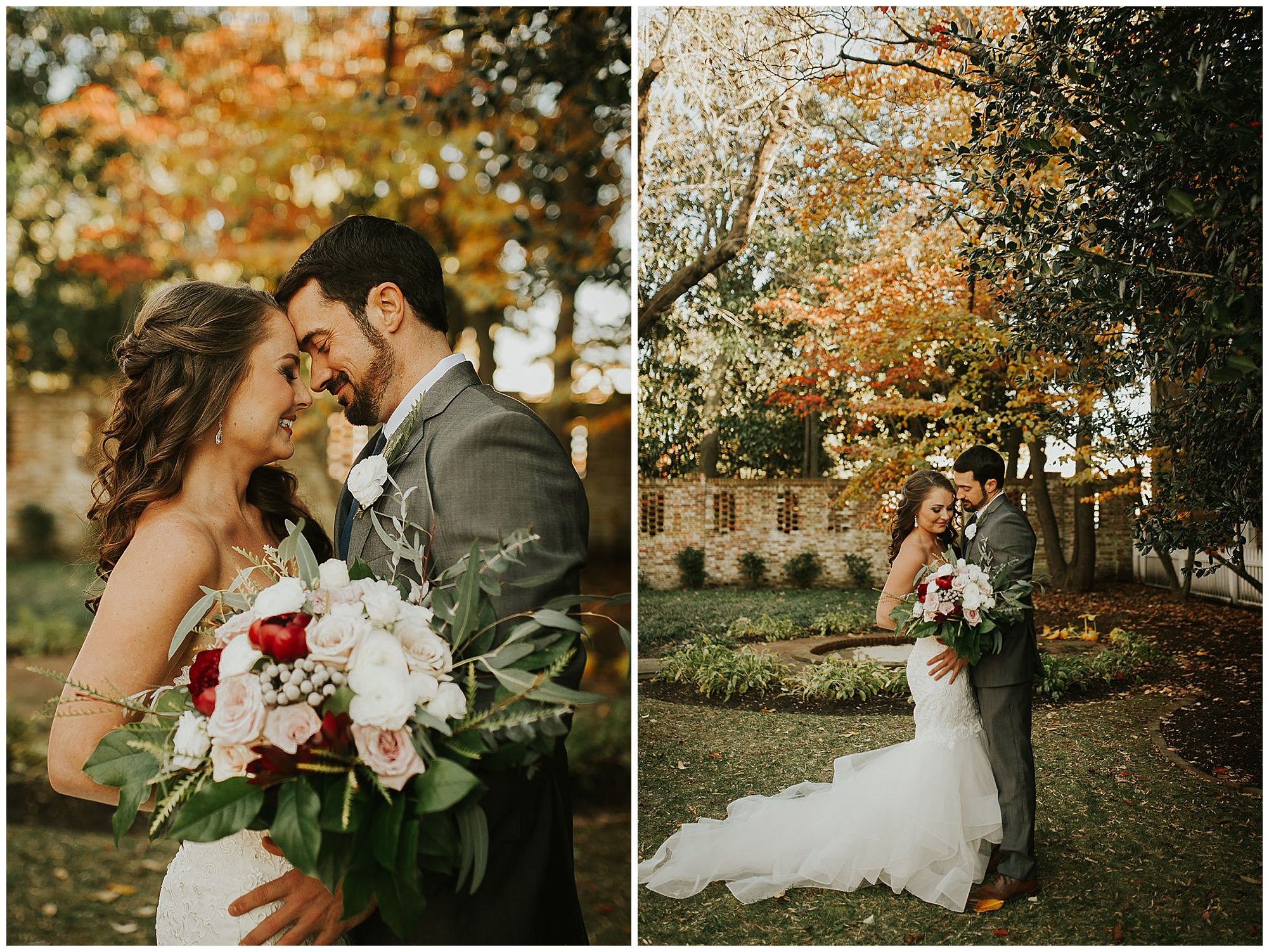 fall inspired wedding bouquet. undone untamed and glorious. intimate bride and groom outdoor photo inspo from my eastern shore wedding blog. featured vendor: tidewater inn in easton maryland. coastal eastern shore wedding ideas and inspiration.