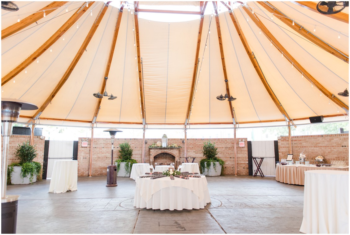 Tidewater Inn outdoor space | My Eastern Shore Wedding | The Tidewater Inn