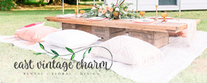 East Vintage Charm | Floral Design | My Eastern Shore Wedding