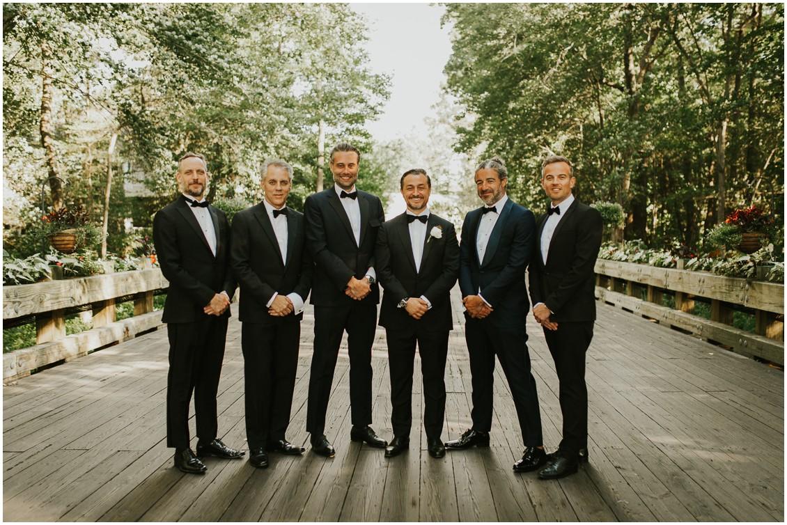 Groom with groomsmen | My Eastern Shore Wedding
