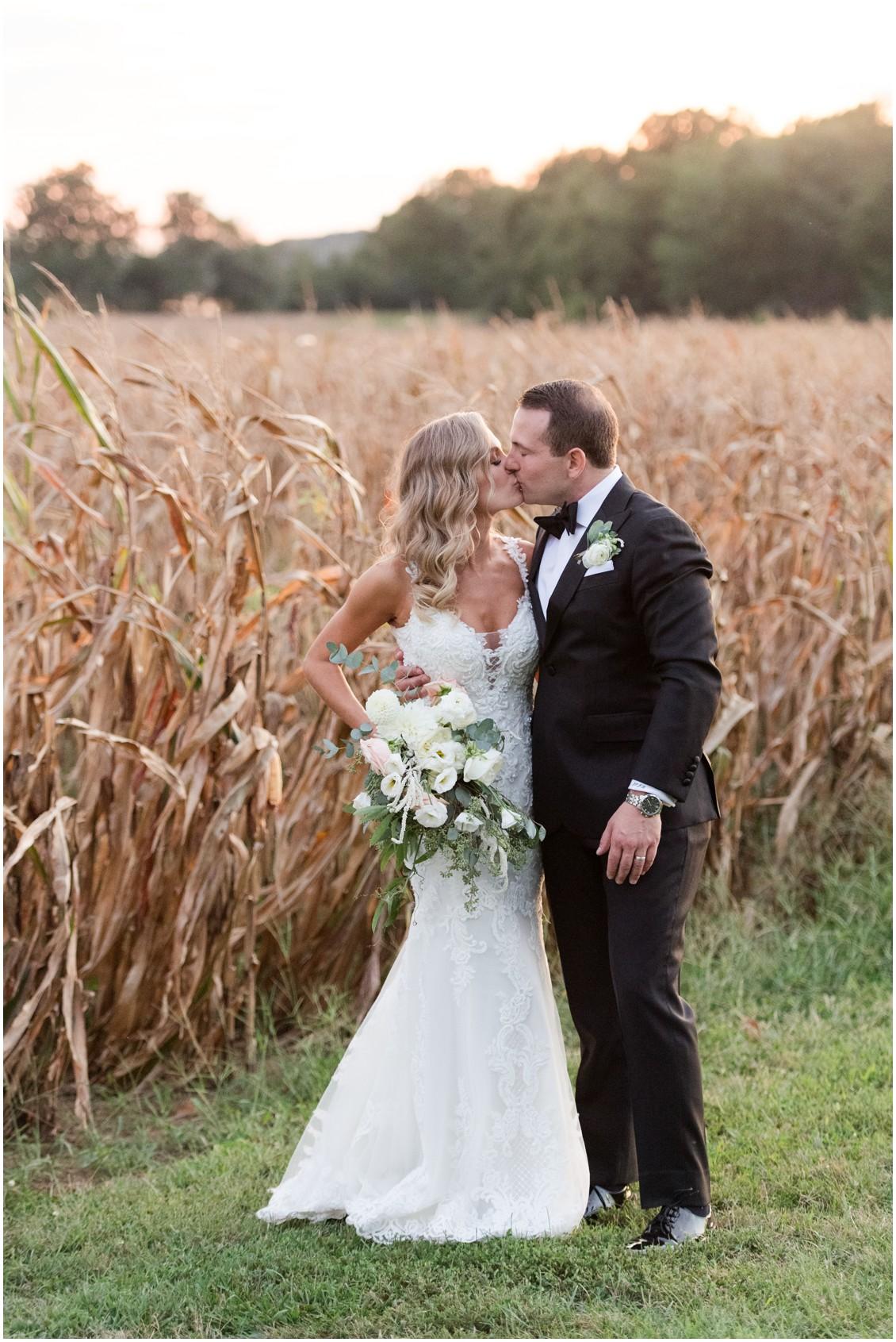 Bride and groom portrait | Brittland Manor | Rob Korb |  My Eastern Shore Wedding