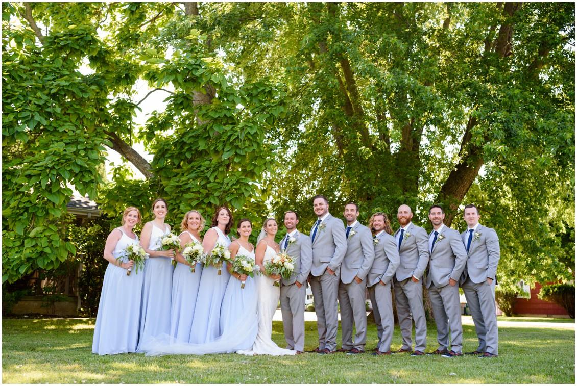 Bridal party portrait | My Eastern Shore Wedding | J. Nicole Photography