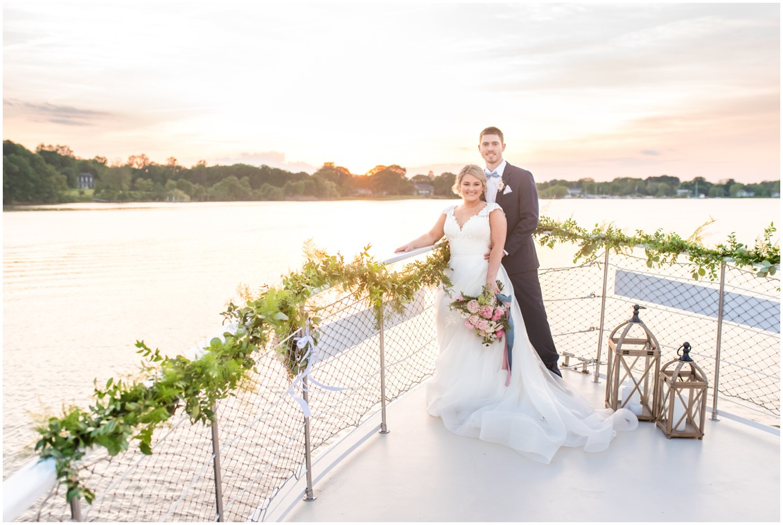 Unforgettable Elopement on the Chester River Packet | My Eastern Shore Wedding | Alexandra Kent Photography