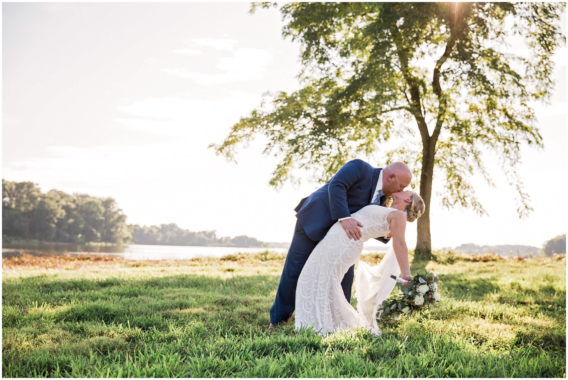 Perfect pair perfect day at possum point | My Eastern Shore Wedding | Chelsea Fluharty Photography