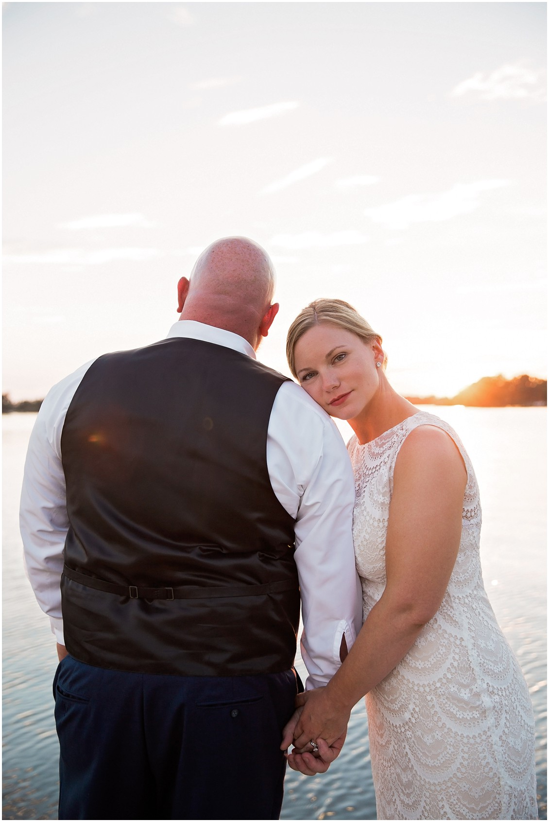 Bride and groom portraits perfect pair| My Eastern Shore Wedding | Chelsea Fluharty Photography