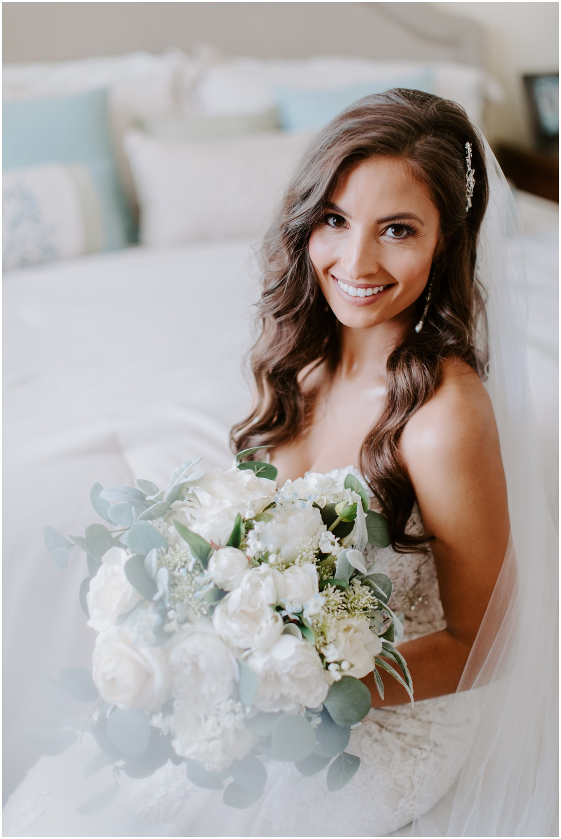 Bridal portrait | My Eastern Shore Wedding | Bayside Resort