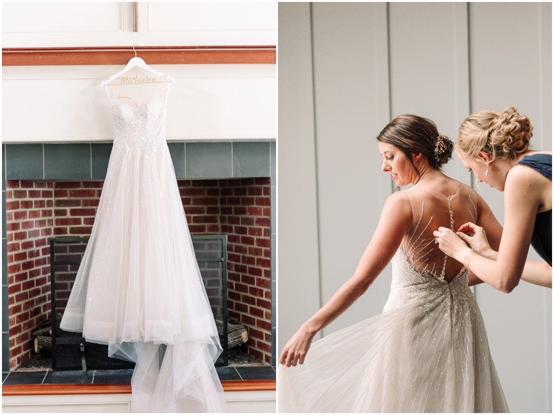 Bride  getting ready for bayside celebration | My Eastern Shore Wedding | Chesapeake Bay Beach Club