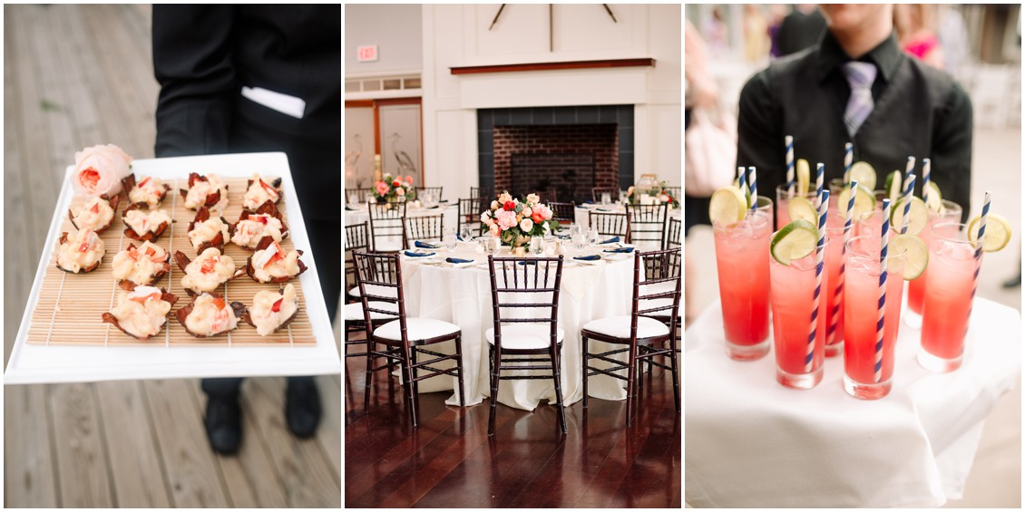 Reception details | My Eastern Shore Wedding | Chesapeake Bay Beach Club