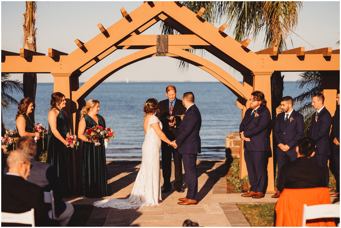 Wedding ceremony bright boho wedding | My Eastern Shore Wedding | Sherwood Florist