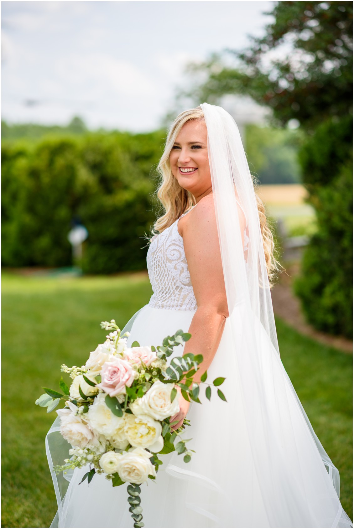 Bridal portrait happily ever after | My Eastern Shore Wedding | J Nicole Photography