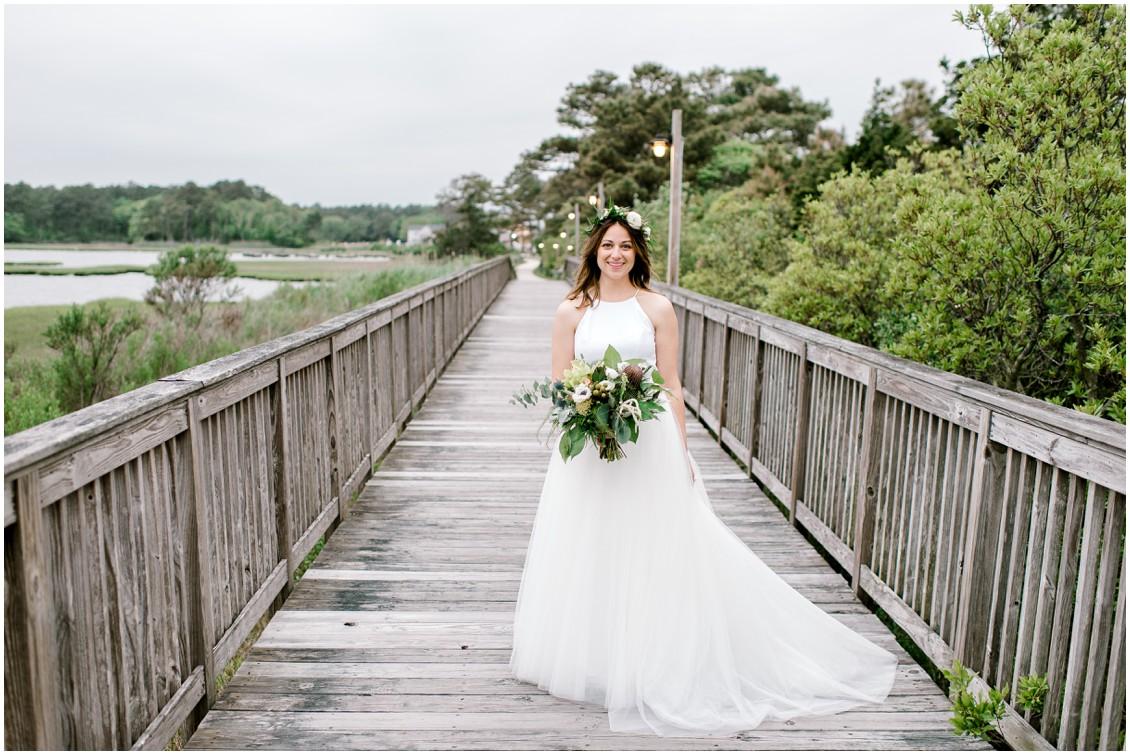Bride portraits |  Naturally Beautiful Bayside Weddings| My Eastern Shore Wedding | Erin Wheeler Photography | Bayside Resort Golf Club