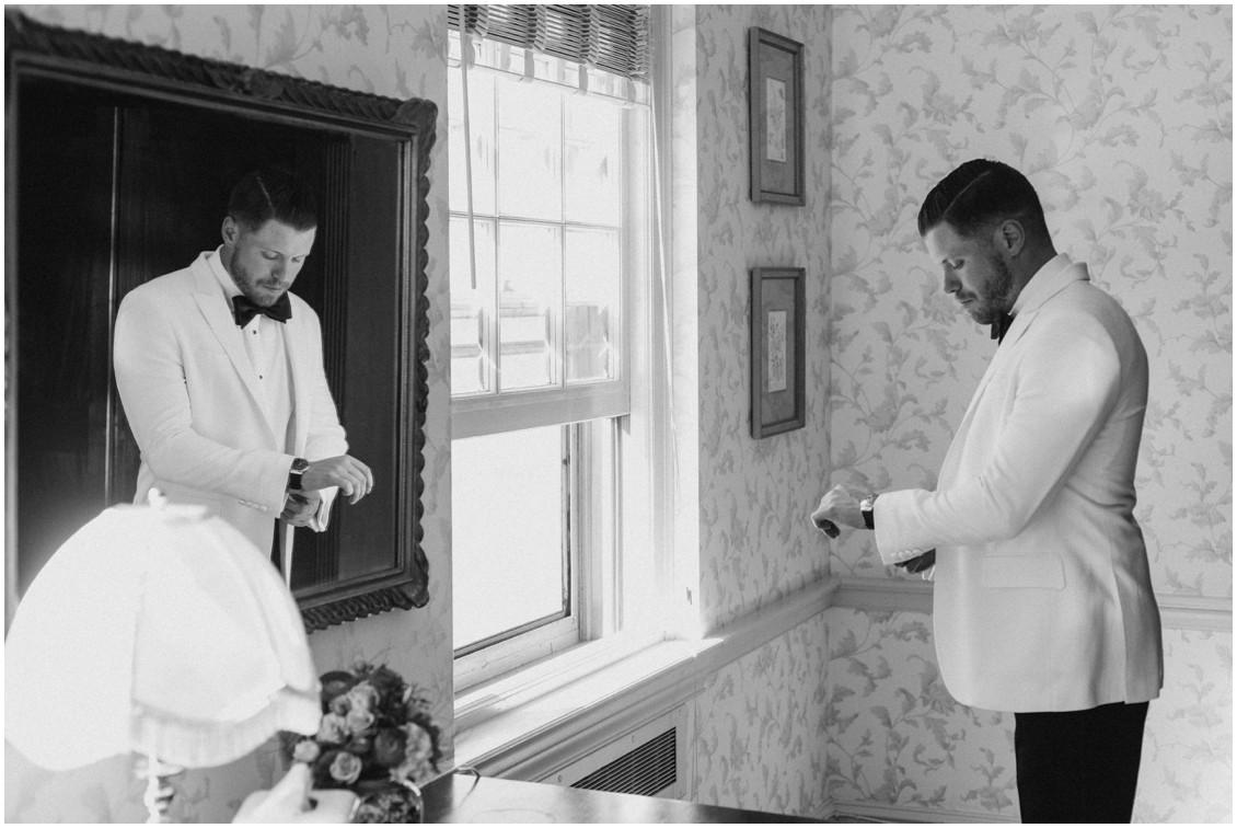 groom portraits getting ready classic lux wedding | My Eastern Shore Wedding