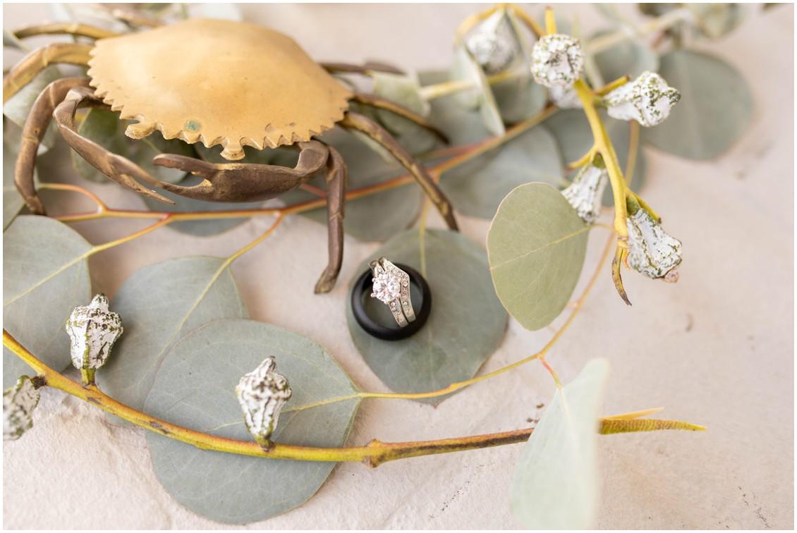 Details from winter wedding at Wylder hotel | My Eastern Shore Wedding | J. Starr's Flower Barn | Price Rentals