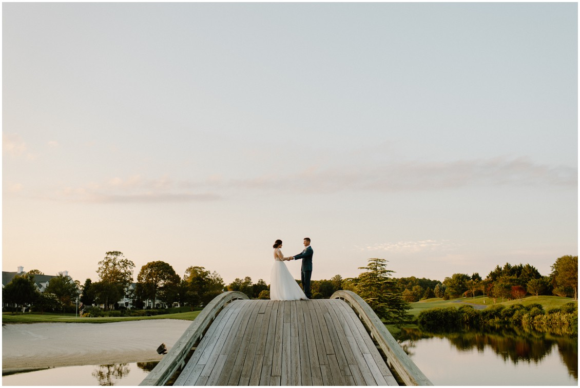 Simply timeless wedding portraits | My Eastern Shore Wedding | Baywood Weddings