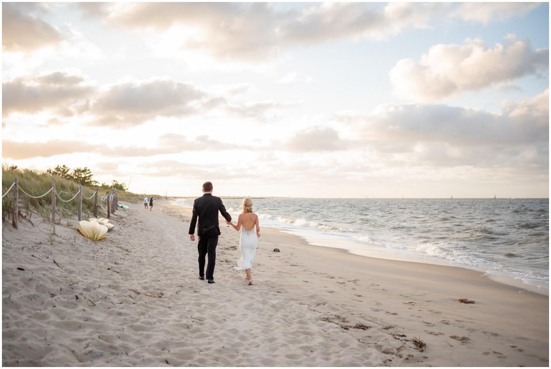 Dreamy Beach-side wedding portrait   My Eastern Shore Wedding   J. Nicole Photography