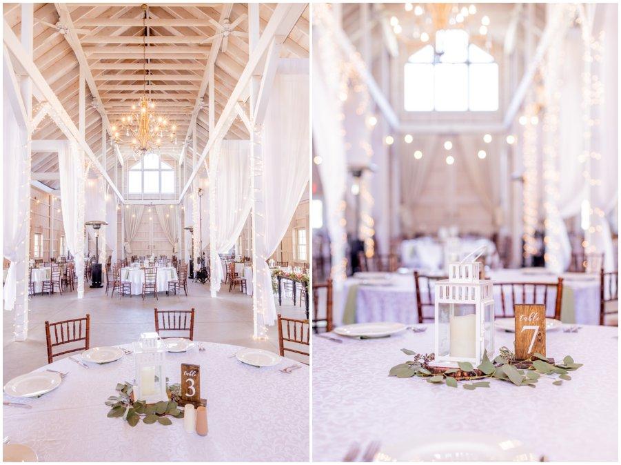 Inside views of beautiful Kylan Barn in Delmar, MD. Gorgeous and Rustic Barn Wedding.